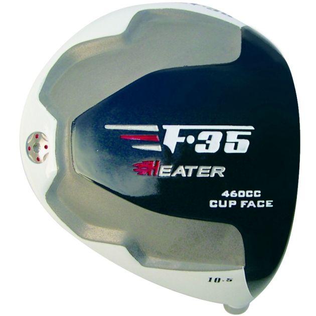 Heater F-35 Cup Face White Titanium Driver Head RH