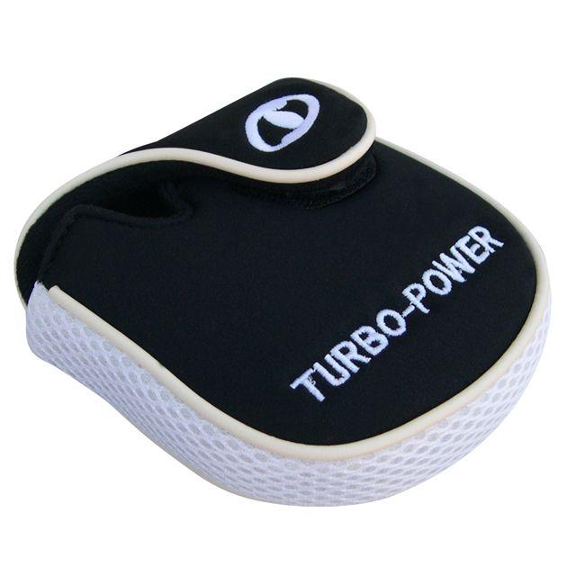 Turbo Power White/Black Putter Headcover Left Hand