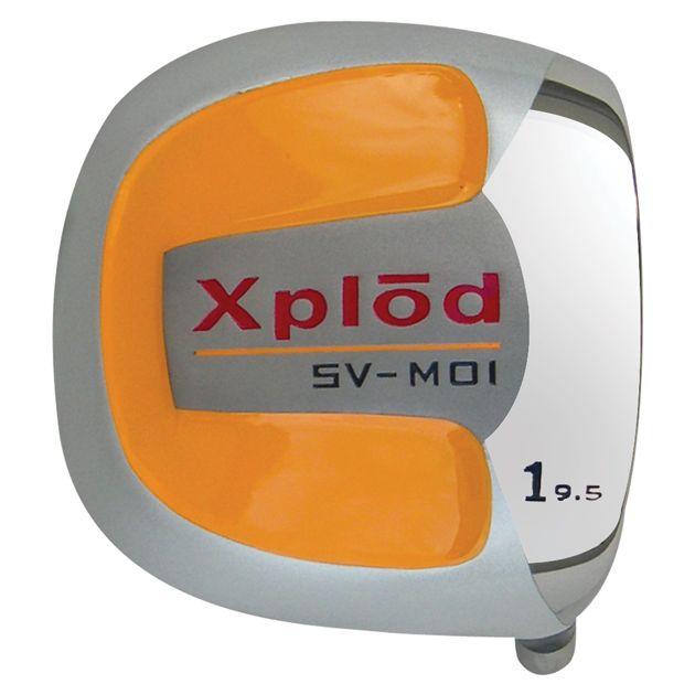 Xplod Square Orange Titanium Driver Head