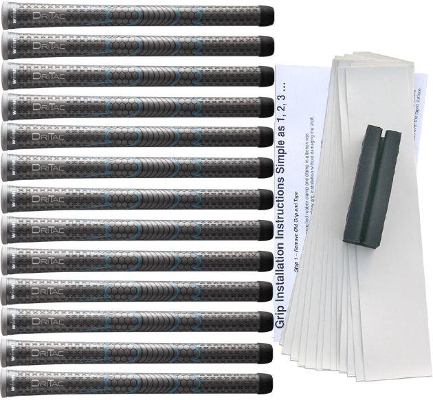 Winn Dri-Tac Ladies Gray Grip Kit