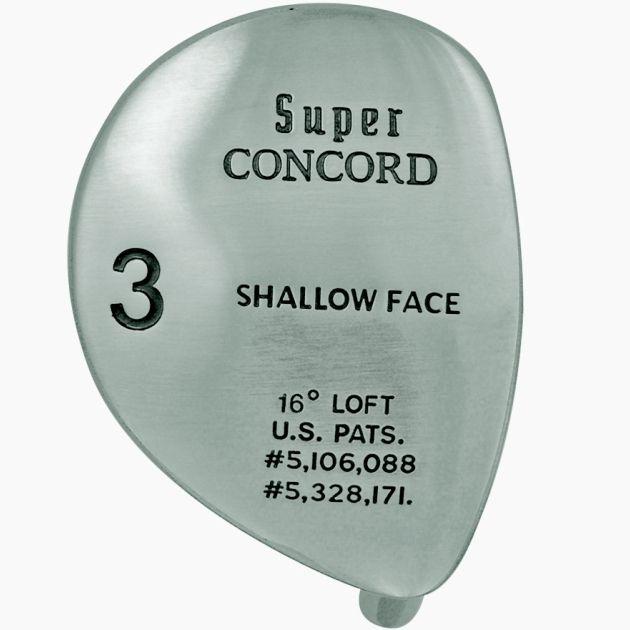 Super Concorde Fairway Wood Head Left Hand