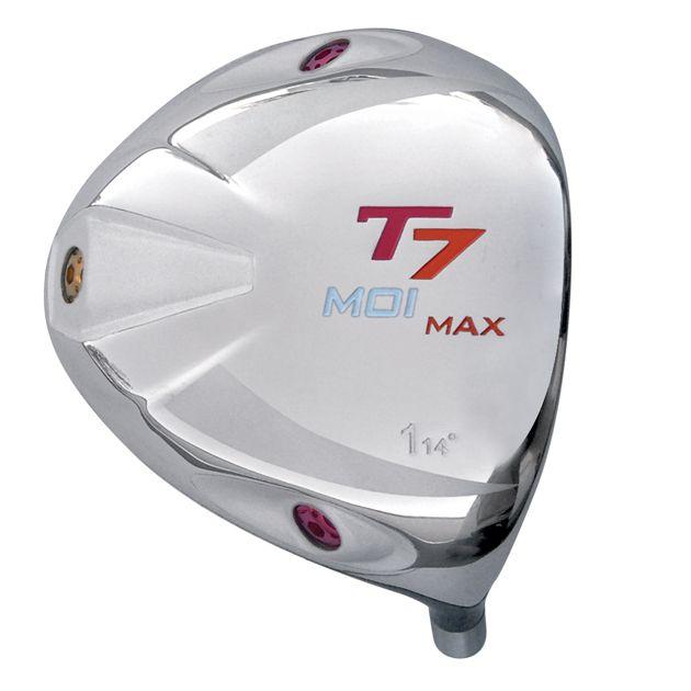 T7 Max MOI Triangular Red Titanium Driver Head