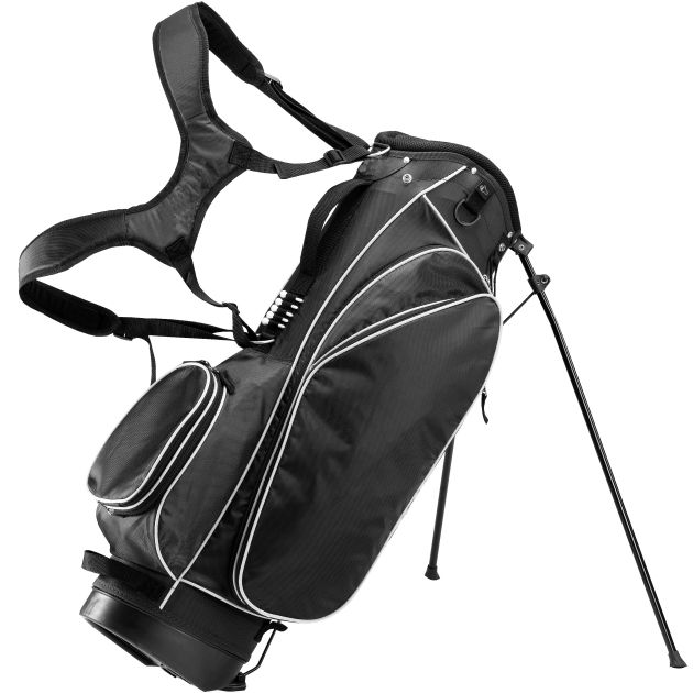 "RJ Sports DE 9"" Stand Bag - Black"