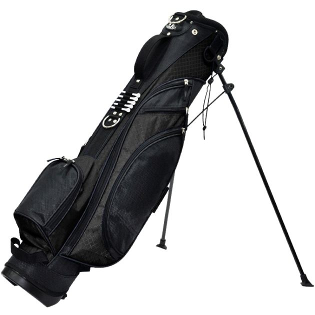 "RJ Sports Typhoon 6"" Stand Bag - Black"