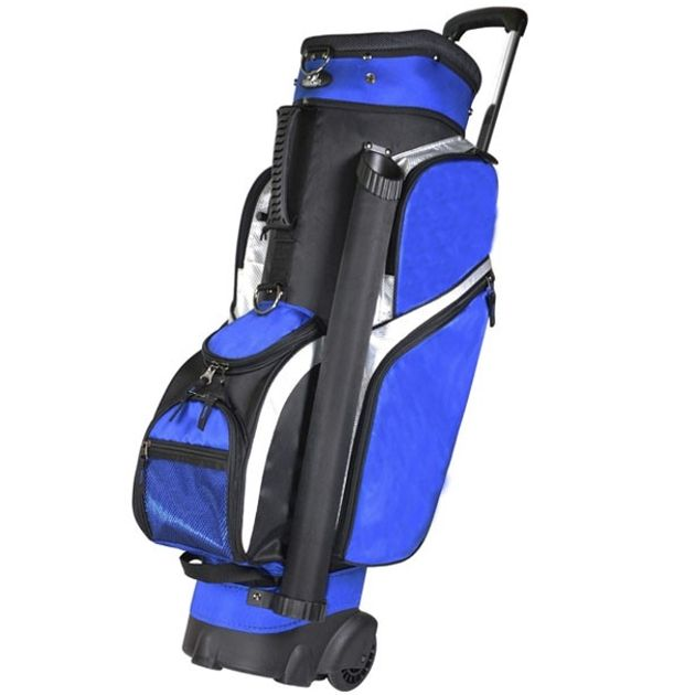 "RJ Sports Wheeled 9.5"" Transport Bag - Royal"