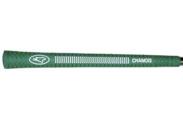 "Avon Chamois Oversize (+3/32"") Green Grips"