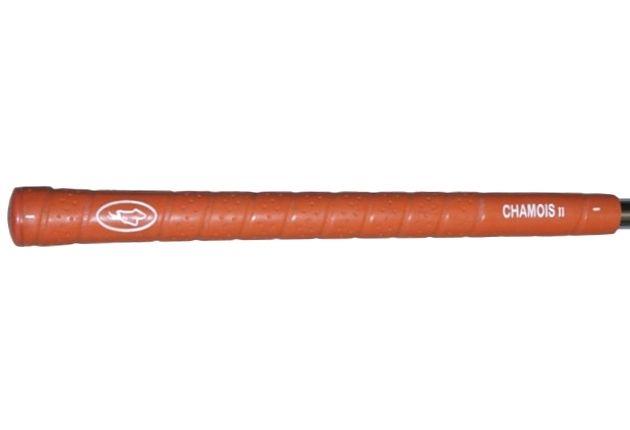 """Avon Chamois II Jumbo (+1/8"""") Orange Grips"""