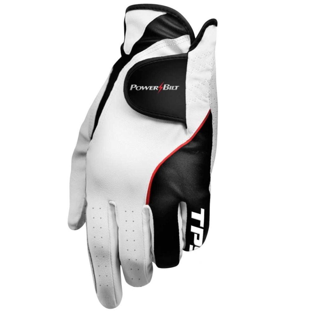 Powerbilt TPS Cabretta Golf Glove, Right Hand Player