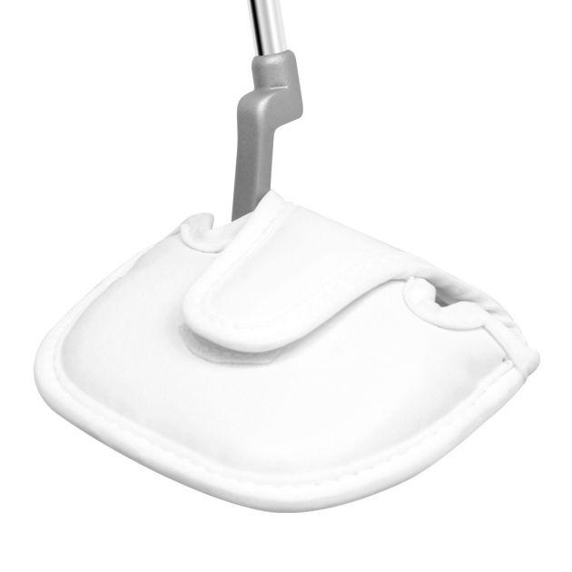 Mallet Putter Headcover White Standard