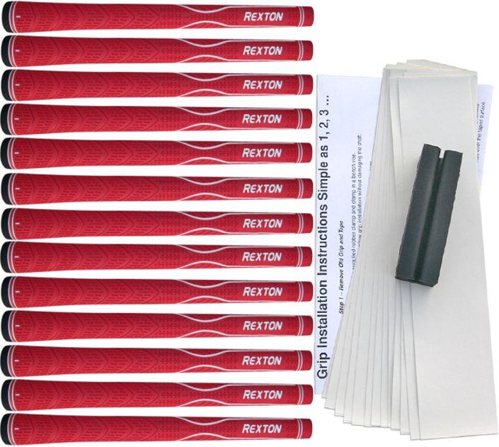 Rexton V-Line Red 13 pc Grip Kit