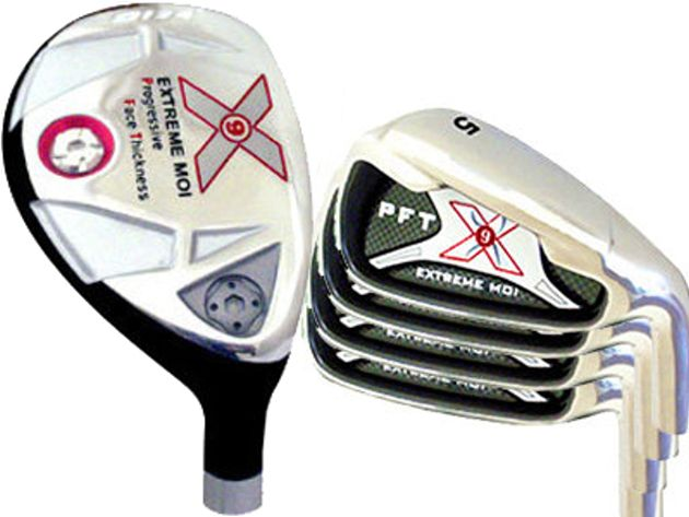 Custom-Built X9 Extreme MOI Hybrid/Iron Combo Set (8 Clubs)