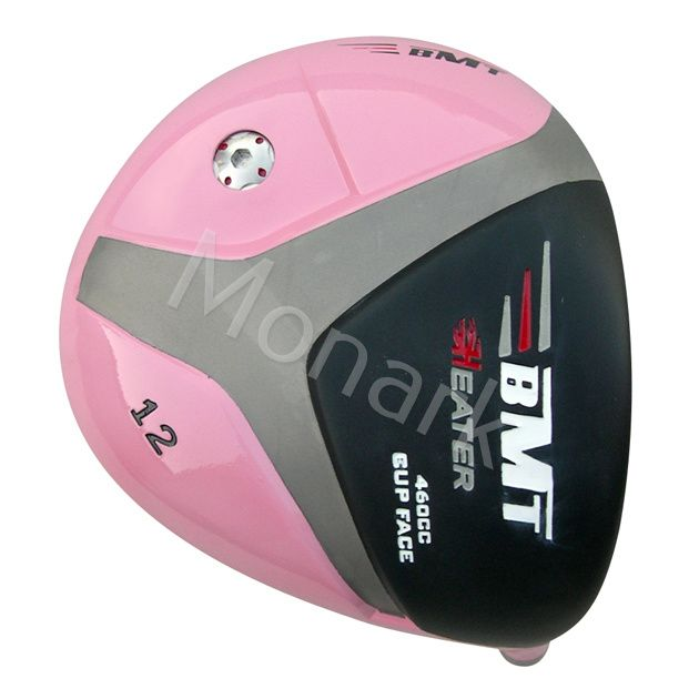 Heater BMT Cup Face Titanium Driver Head Pink