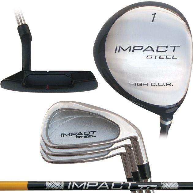 Built Integra Steel Impact 5-Club Set