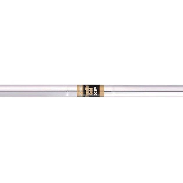 True Temper Dynalite Gold XP 0.355 Taper Tip Steel Iron Shafts - Set of 8