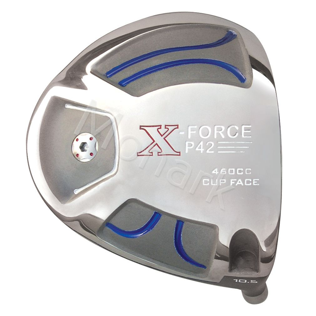 Custom-Built X-Force P42 Cup Face Titanium Driver