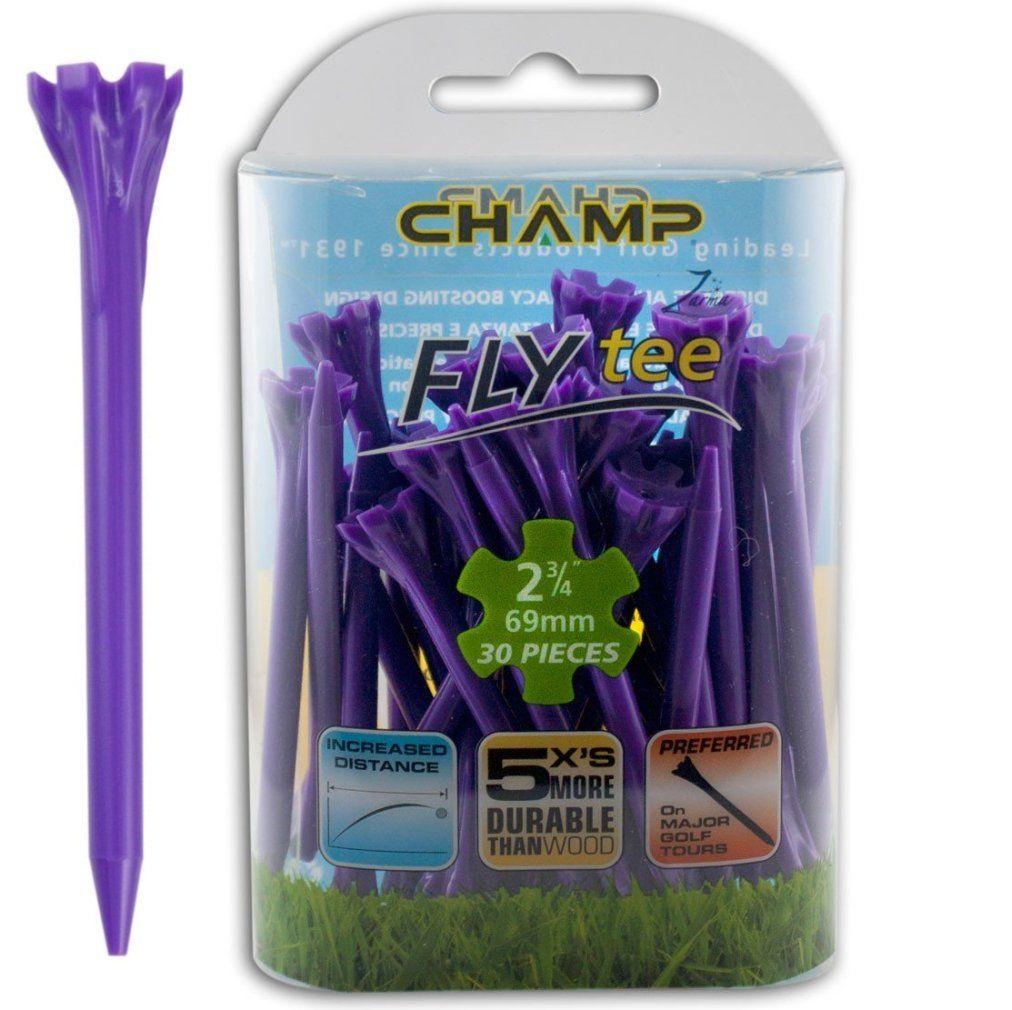 "Champ Zarma FLYTee - 2.75"" Purple Golf Tees 30 pack"