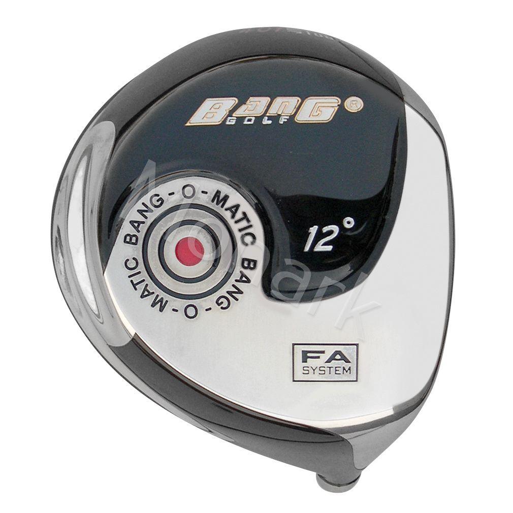Custom-Built Bang Golf Bang-O-Matic 401 Beta Titanium Driver Black