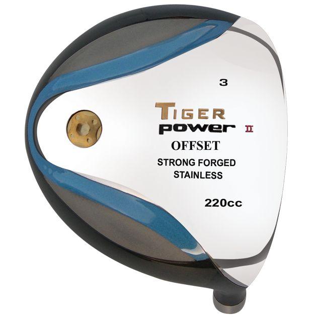 Tiger Power II Offset Fairway Head