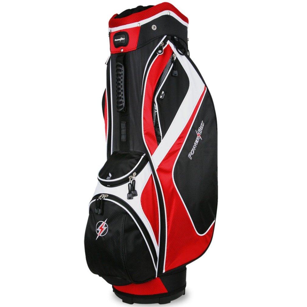 Powerbilt Air Attack Black/Red Cart Bag