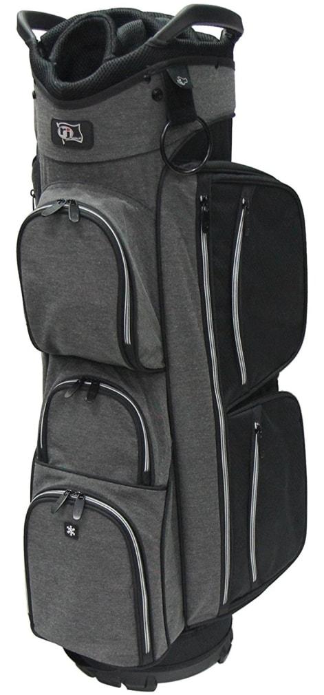 RJ Sports EL-680 Cart Bag - Black/Black