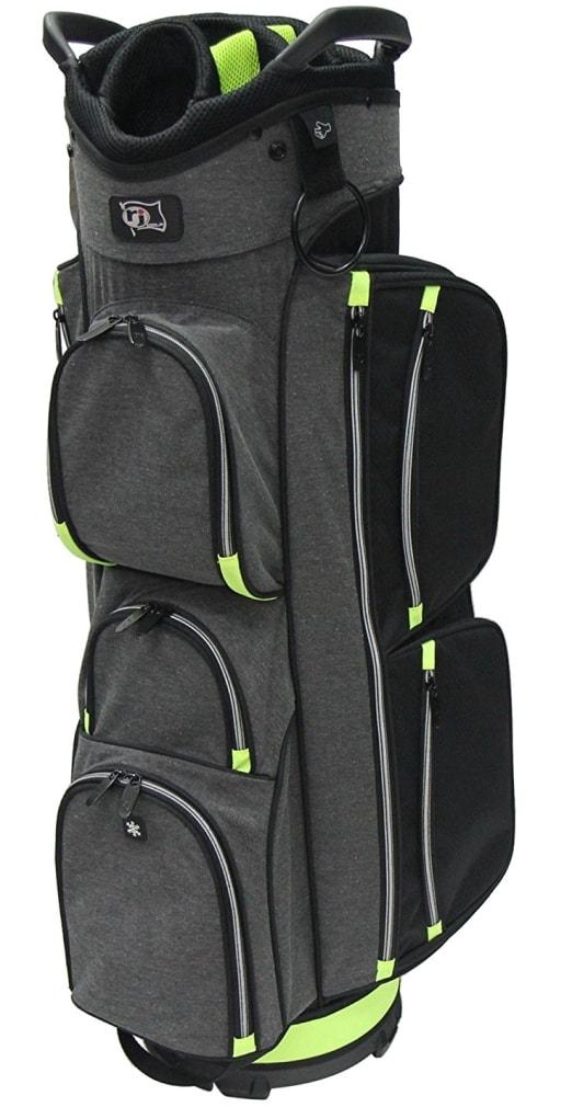 RJ Sports EL-680 Cart Bag - Black/Grey