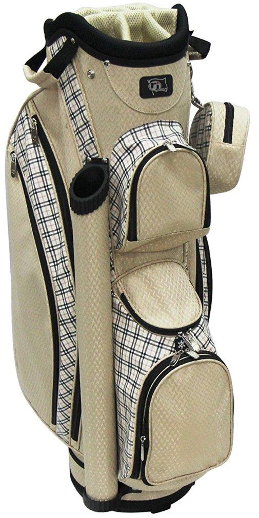 Rj Sports LB-960 Ladies Cart Bag - Sand Plain