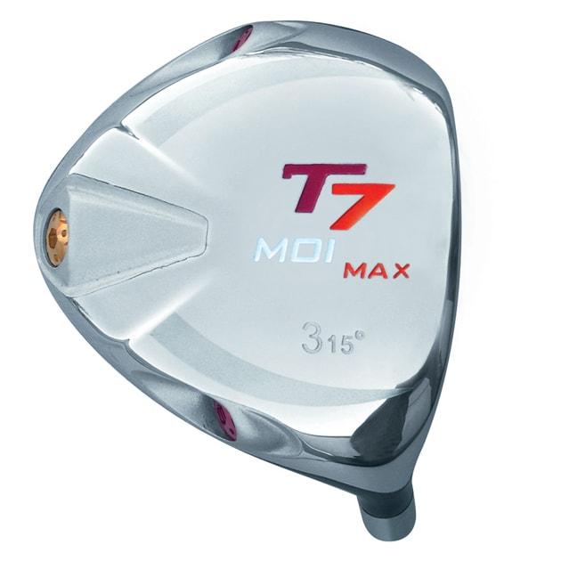 T7 Max MOI Triangular Red Fairway Wood Head