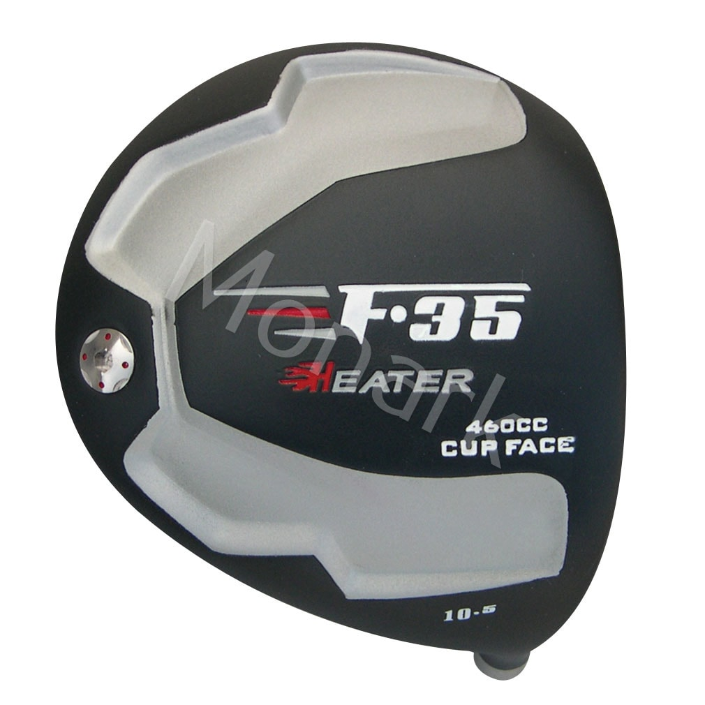 Heater F-35 Cup Face Black Titanium Driver Head