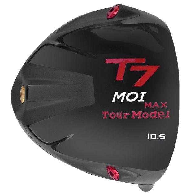 T7 Max MOI Triangular Black Titanium Driver Head