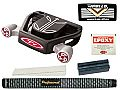 T-7 Twin Engine Black Mallet Putter Component Kit