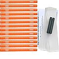 Avon Chamois II Jumbo Orange - 13 pc Grip Kit