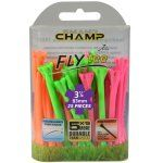 "Champ Zarma FLYTee - 3.25"" Mixed Neon Golf Tees 25 pack"