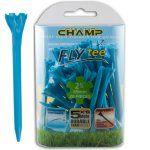 "Champ Zarma FLYTee - 2.75"" Neon Blue Golf Tees 30 pack"