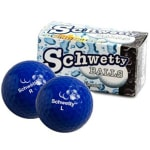Schwetty Balls - Blue Pair Novelty Golf Balls