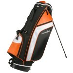 Powerbilt Santa Rosa Black/Orange Stand Golf Bag