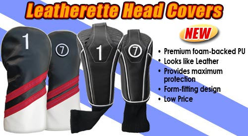 Leatherette Head Covers