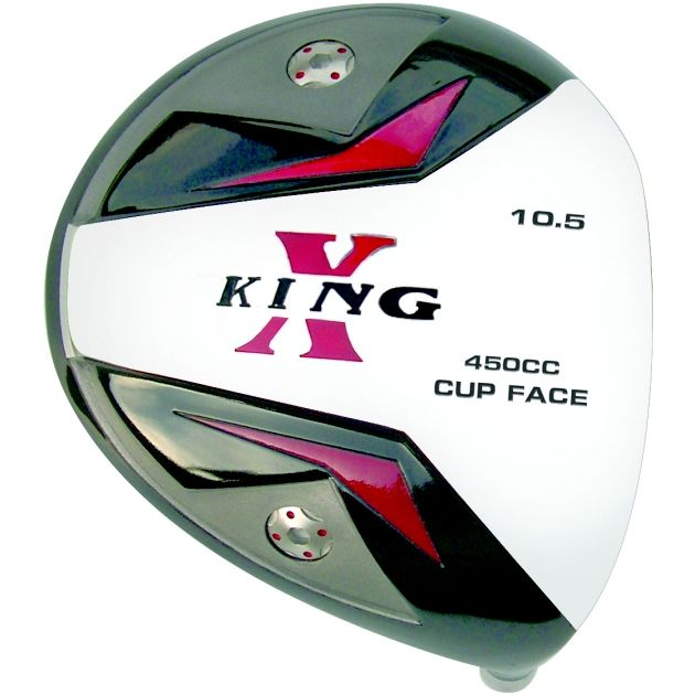 Custom-Built King-X Cup Face Titanium Driver