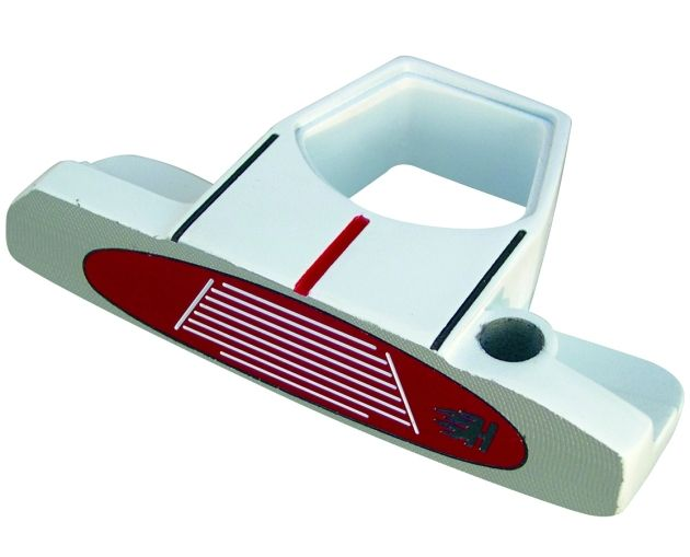 Heater IV White Putter Head