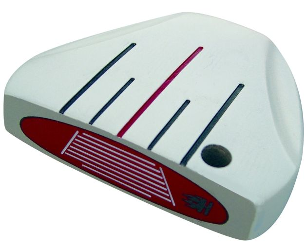 Heater 5.0 White Mallet Putter Head RH
