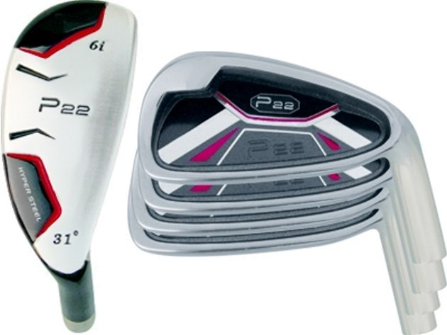 P-22 Hybrid / Iron Combo Set (8 Heads)