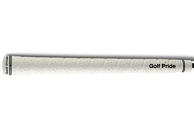 "Golf Pride Tour Wrap 2G Midsize (+1/16"") White Grips"