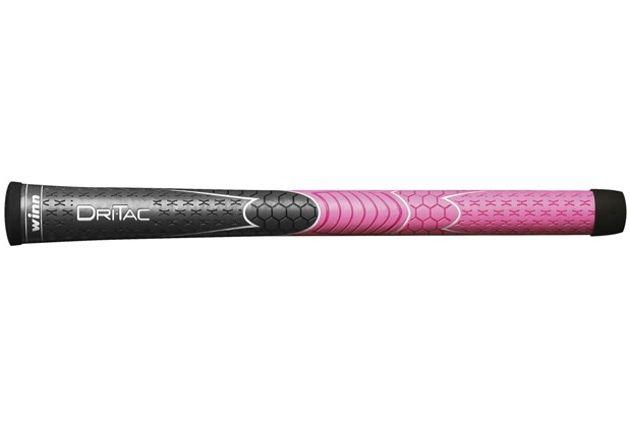 Winn DriTac Ladies Gray/Pink Golf Grips
