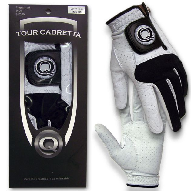 Tour Cabretta Golf Glove, Left Hand Player
