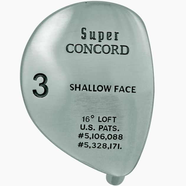 Super Concorde Fairway Wood Head Left Hand
