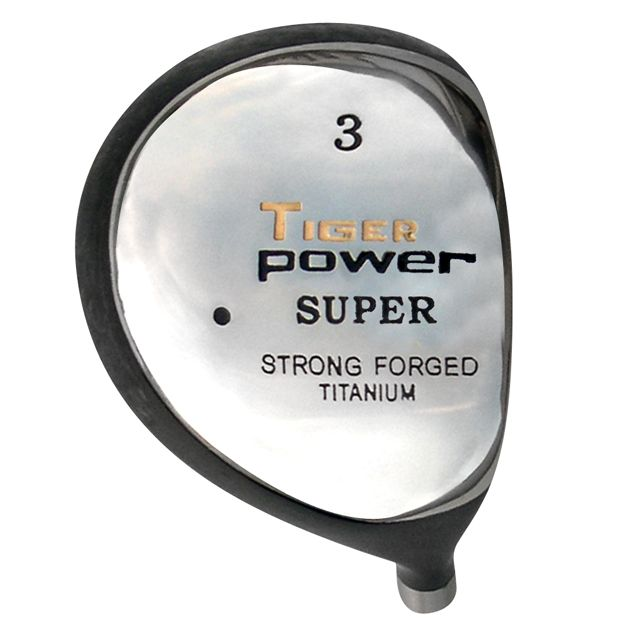 Tiger Power Titanium Fairway Wood Head