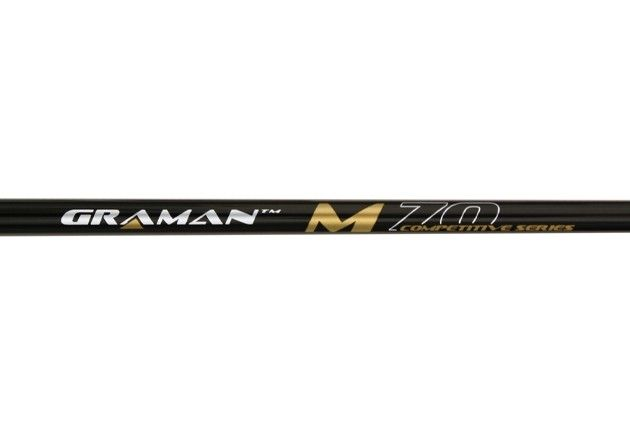 Graman Competitive Series M70 Graphite Black Shaft