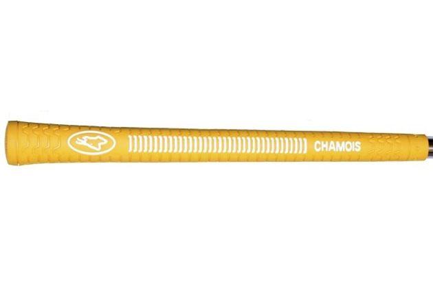 "Avon Chamois Oversize (+3/32"") Yellow Grips"