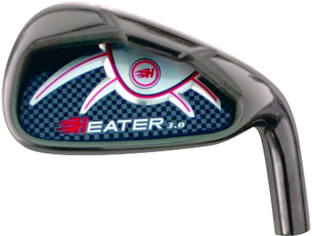 Custom-Built Heater 3.0 Black Plated Irons/Wedges