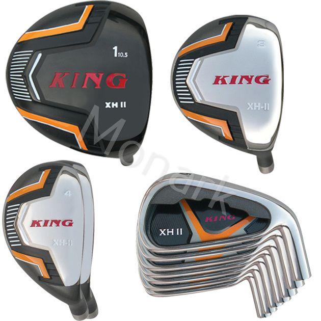 Built King XH2 Titanium Driver 9-Club Set