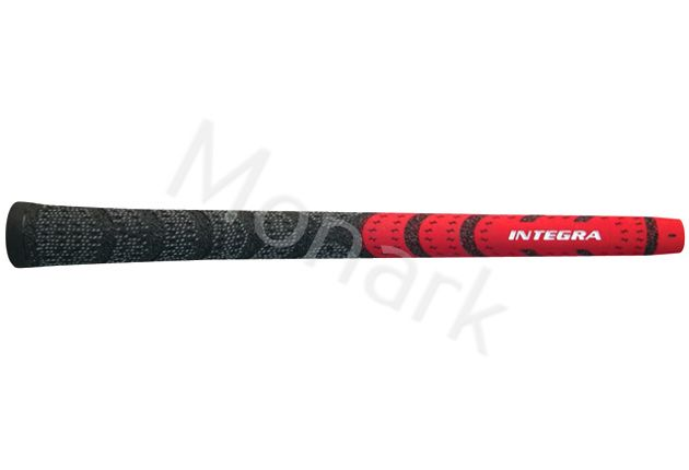 Integra Dual Compound Half-Cord Red/Black Standard Grip